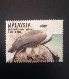 Malaysia 1996 Birds of Prey 50c Used SG605 (0328)