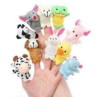 Animal finger puppet (10pcs)
