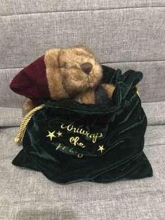 Bear Stuff Toy with Velvet bag