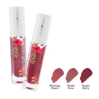 Get P100 OFF when you buy 2 Velvet Color Liquid Lipstick