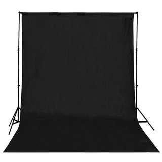 Backdrop Studio Fotografi - Black