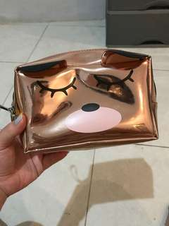 Pouch make up tempat kosmetik