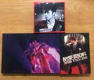 張敬軒 CD /DVD 5 套
