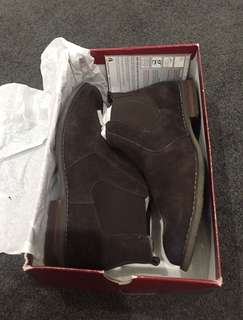 Hush Puppies Mens Suede Boots