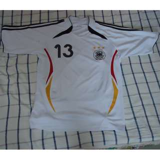 Germany World Cup Soccer Football Jersey