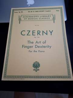 Czerny's Art of Dexterity (Op. 740)