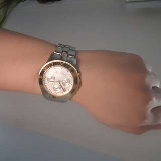 Reprice Preloved Marc Jacob Two Tone Watch