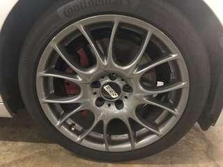 "19"" BBS Rims half price! (4 x Rims with tires)"