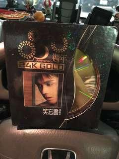 張敬軒 24K 金cd ( 沒有親筆簽名)
