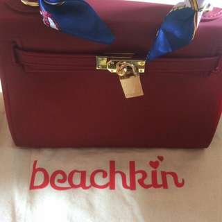 Brand new beachkin maroon bag
