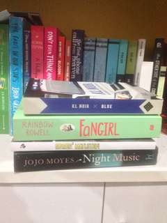 Preloved Novels / Books
