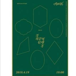 [PO] A Pink - Miracle Story (Special Single) Limited Edition
