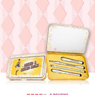 "Defined and Refined brows kit ""Benefit"""