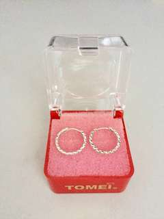 NEW Tomei White gold earring