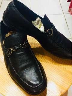 Original Aigner black Man's shoes