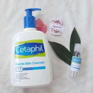 [SHARE in fliptop 20ml/30ml/60ml] Cetaphil Gentle Skin Cleanser