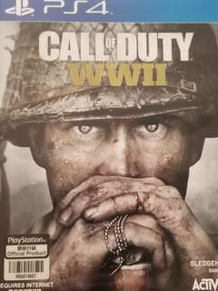 (PS4) Call of Duty:WWII