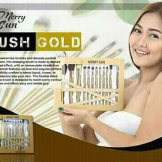 Merry Sun Gold Brush Set