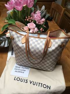 AUTHENTIC LOUIS VUITTON NEVERFULL MM DA