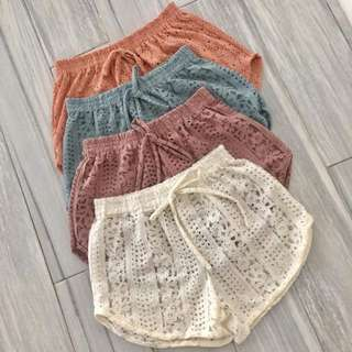 Cover-up shorts