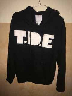 TxDxE Hoodie Black / hitam