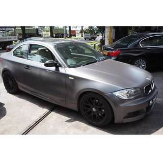 BMW E82 125i N52B 2008 PARTS FOR SALE (07074)
