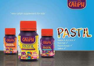 SUPPLEMENT PASTEL  FOR KIDS BY CALIPH