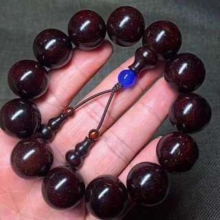 小葉紫檀 1.8老泥料 以包漿 高油密