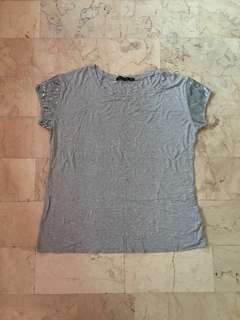 Gray FrenchToss top