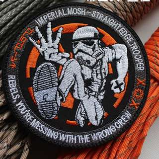 storm trooper ilbv morale velcro patch