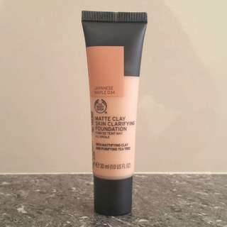 The Body Shop Matte Foundation (Japanese Maple)