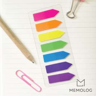 Neon Page Marker Sticky Notes