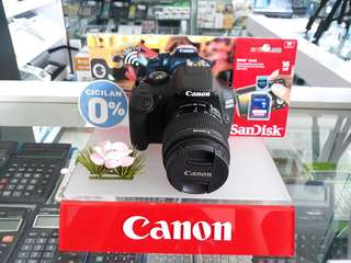 Canon EOS 1300D Bisa Dicicil tanpa kartu kredit Promo Bunga 0%