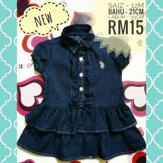 Baby Dress (Denim)