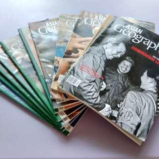 Asian geographic magazines