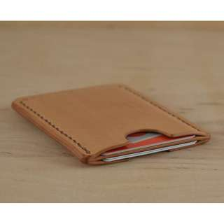 Card ID Holder Genuine Leather Handmade ( Customizable)