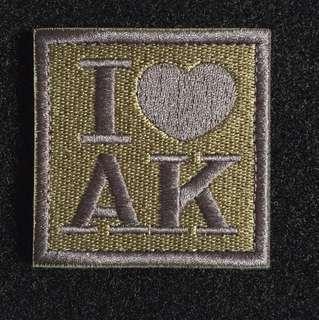 AK 47 Velcro morale iLBV patch