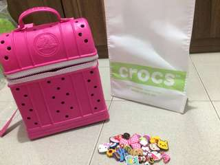 Authentic backpack crocs
