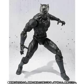 Bandai - Tamashii Exclusive - SHF (Captain America: Civil War) - Black Panther - 1/12 Collectible Action Figure