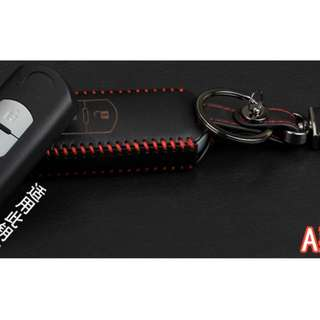 Mazda Type A Car Key  Leather Pouch