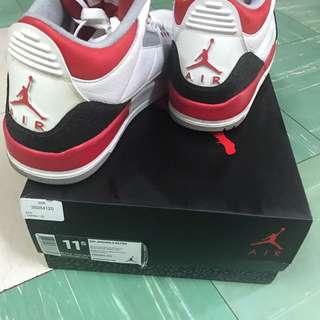 Air Jordan 3 Retro Us 11.5 Bape Soph Wtaps