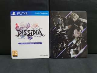 PS4 Dissidia Final Final NT Steelbook Edition (Used Game)