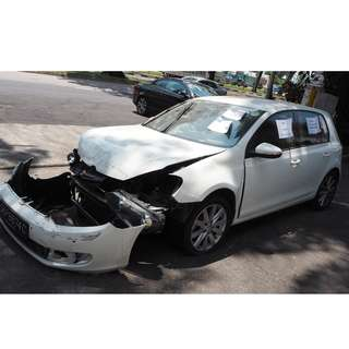 VW NEW GOLF 1.4TSI 2010 PARTS FOR SALE (07045)
