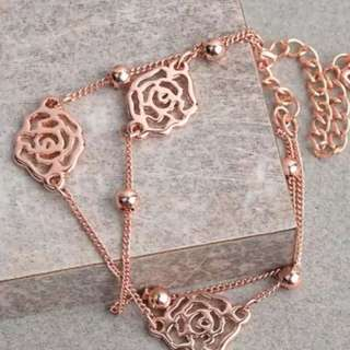 Bracelet dual 3 roses