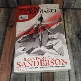 Words of Radiance Part 2 by Brandon Sanderson