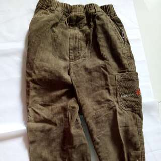 Girl's Pants Brown size 120
