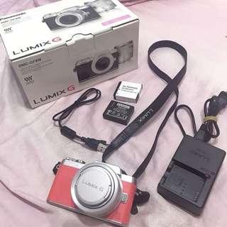 Panasonic lumix GF8+12-32mm變焦鏡 公司貨/粉紅色