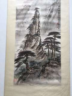 画家陈大章67x32cm (非卖品 Not Fot sale)Chinese painting