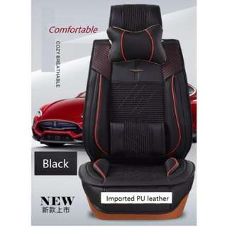 ORIGINAL Quality PU leather Deluxe 1st & 2nd row Car seat cover