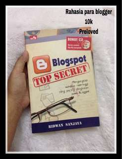 Buku rahasia BLOGGER